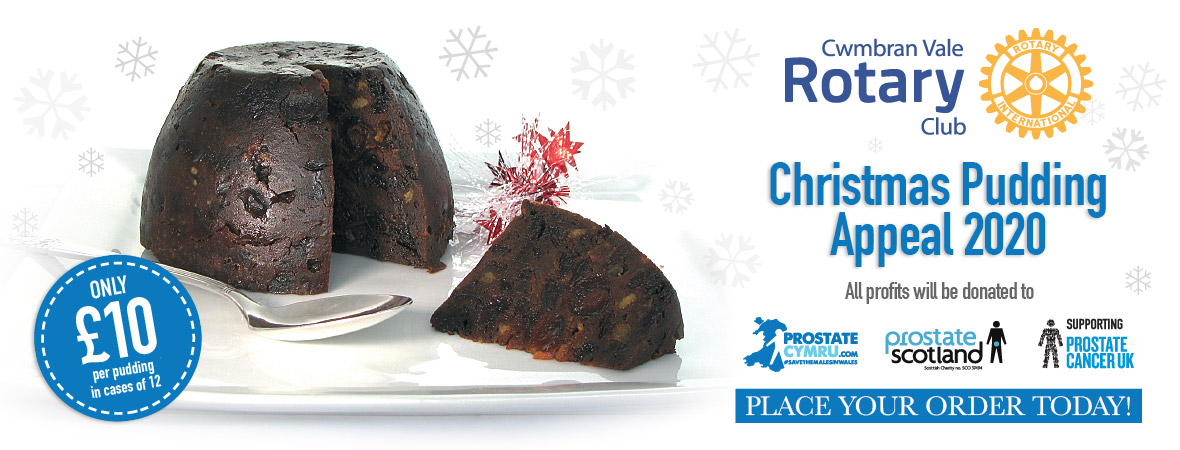 Buy your Rotary Xmas Puddings Here