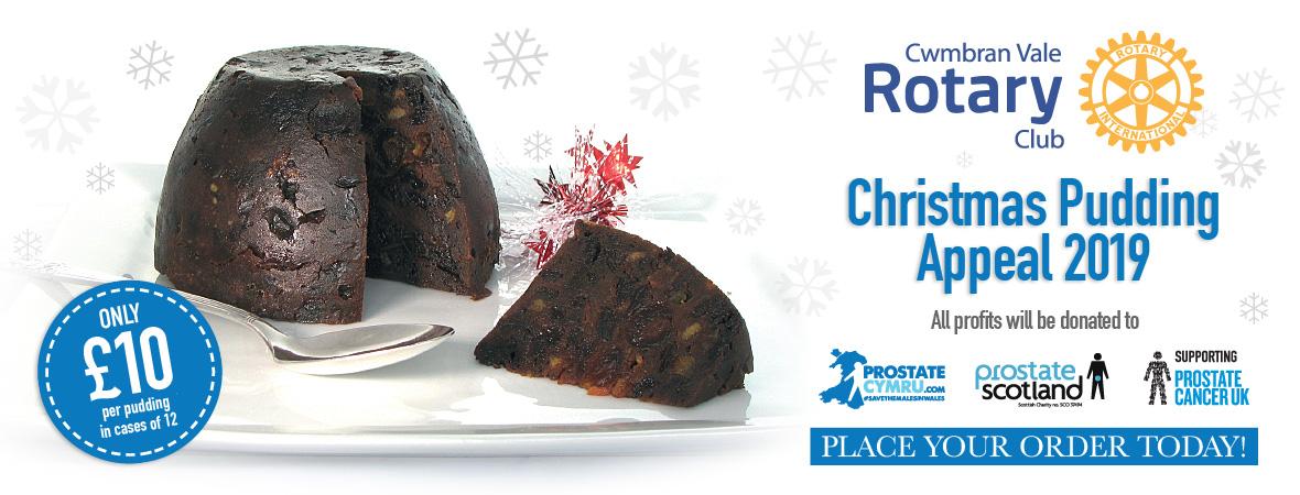 Christmas Pudding 2019 Home   Christmas Pudding Appeal 2019